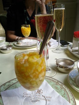 Photo of London London Afternoon Tea at Grosvenor House Champagne and Fruit