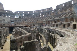 Viewing the Colosseum. , Betty P - August 2015
