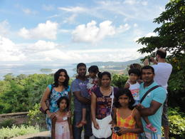 Ruban, Mathy, Siva, Nalagini, Shathurya, Shathviha, Saranki and Keshia at Karron view point. , THAVARUBAN T - September 2011