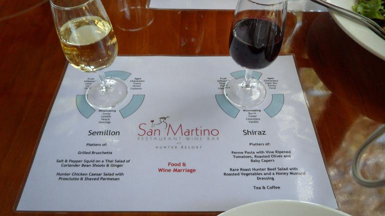 Food and Wine pairings @ San Martino in Hunter Resort 1 - Sydney