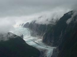 Franz Josef Glacier photo taken during helicopter flight to Fox Glacier., Euan P - February 2010