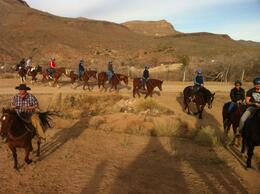 Photo of Las Vegas Grand Canyon Helicopter and Ranch Adventure Horseback Ride