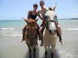 Photo of Ocho Rios Heritage Beach Horse Ride In Love