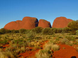 Photo of Ayers Rock Ayers Rock Super Saver: Uluru Sunrise Indigenous Experience plus Kata Tjuta Tour and BBQ Dinner Kata Tjuta