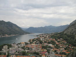The view of Kotor Bay from the top of the hill , Mario Francesco D - September 2014