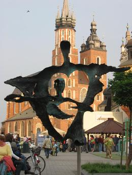 Photo of Krakow Sightseeing Bike Tour of Krakow Main Square