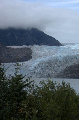 Lots of photo opportunities at the park where the glacier is located. , Suzanne R - September 2013