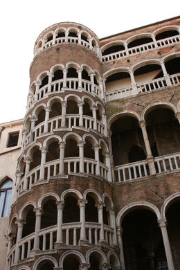 Photo of Venice Venice Walking Tour and Gondola Ride Now that's a staircase.