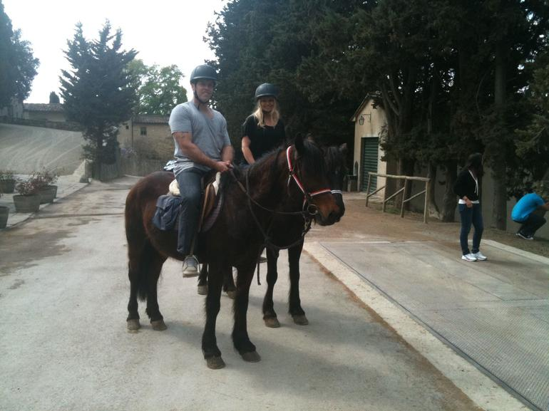 Our very ride friendly horses!! - Florence