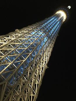 Skytree at night - amazing from every angle. , Ian P - November 2013