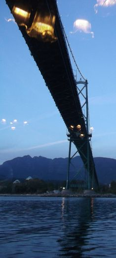 Under Lion's Gate Bridge , Thomas M - October 2015