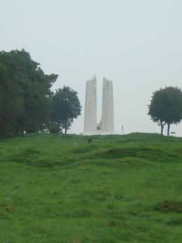 Vimy Monument , Gloria C - September 2014