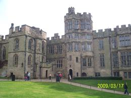 The living quarters of Warwick Castle - March 2009