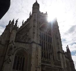 A magnificent cathedral which stands almost shoulder to shoulder with the ancient baths, Susan H - August 2010