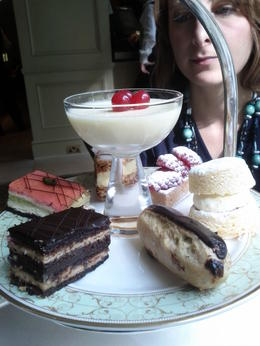 Photo of London London Afternoon Tea at Grosvenor House Dessert