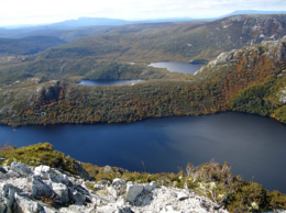 A nice view of Dove Lake at Cradle Mountain., kellythepea - October 2010