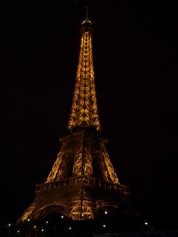 Photo of Paris Eiffel Tower, Seine River Cruise and Paris Illuminations Night Tour Eiffel Tower at night