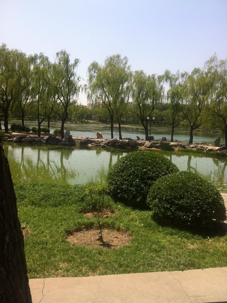 Gardens at the beautiful Summer Palace - Beijing