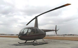 About to enter into that helicopter, Katie Aune - February 2013