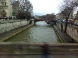Photo of Paris Paris City Tour, Seine River Cruise and Eiffel Tower Lively stream of fresh water, as seen from the tour coach.