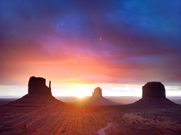 Photo of Las Vegas 7-Day National Parks Camping Tour: Zion, Bryce Canyon, Monument Valley and Grand Canyon South Rim Monument Valley Sunrise