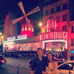 A wonderful night at the Moulin Rouge - September 2014