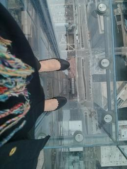 Photo of Chicago Skydeck Chicago Admission My Feet Are 100 Floors Up