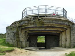 Bunker for German Canon , Leigh - July 2012