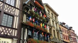 A building in Rouen- a stop on the first day of the tour , Natalie N - September 2013