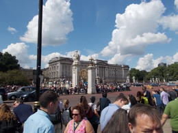 Photo of London Buckingham Palace Tour Including Changing of the Guard Ceremony and Afternoon Tea The Front of the Palace