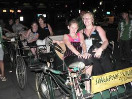 Photo of Singapore Singapore's Chinatown Trishaw Night Tour Trishaw Ride in Singapore