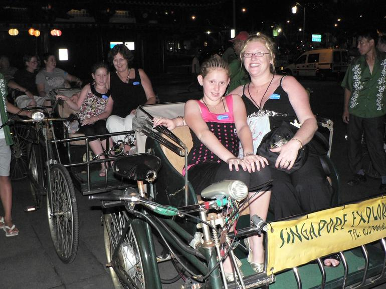 Trishaw Ride in Singapore - Singapore