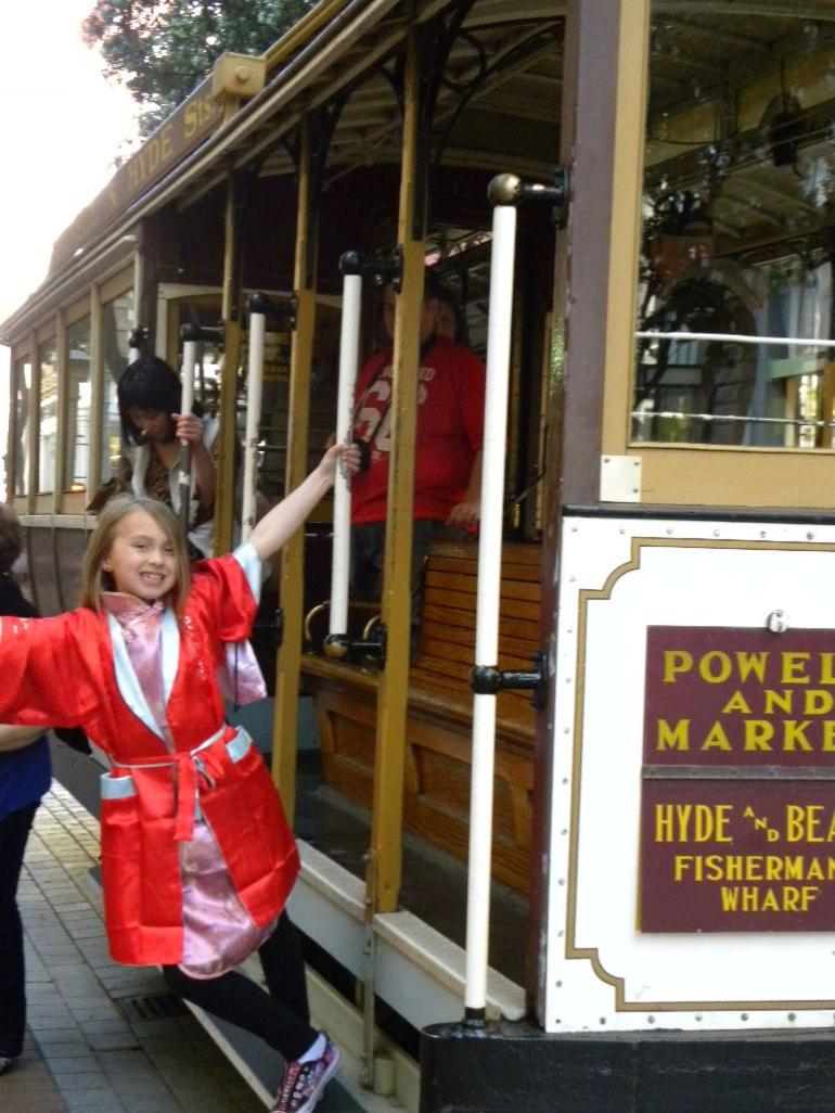 Trolly Cars with the Muni pass - San Francisco