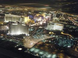 Photo of Las Vegas Las Vegas Night Strip Helicopter Tour View of Strip from the helicopter