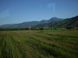Photo of Florence Cinque Terre Hiking Day Trip from Florence View of Tuscany from the bus