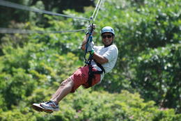 Photo of   Zip lining
