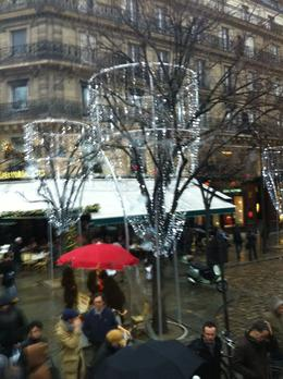 Lovely lighted streets of Paris as seen / enjoyed by us from the Viator Coach. , Anwar Hussain F - January 2012