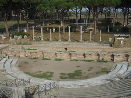 Photo of Rome Ancient Ostia Small Group Day Trip from Rome Antica Ostica Theatre