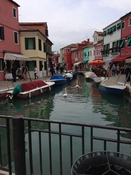 Strolling around Burano with its houses which look like they are Gene markers. , McKenzie L - October 2013