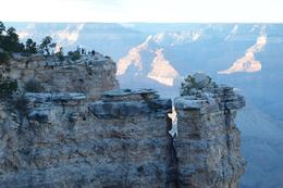 Top of an imposing cliff at the canyon., Carl L - October 2010
