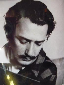 A photo of Dali on a wall - August 2010