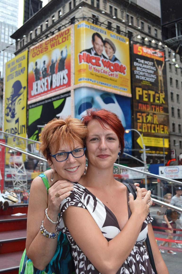 Desiree and Elise Times Square NY - New York City