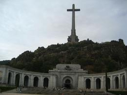 Photo of Madrid El Escorial Monastery and the Valley of the Fallen from Madrid Full view