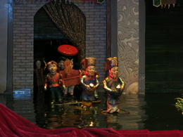 Photo of Hanoi Water Puppet Show with Buffet Dinner from Hanoi Grand entrance