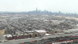 Great views of the city!, Katie Aune - February 2013