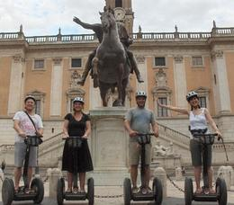 Photo of Rome Rome Segway Tour Hust one pic from our Rome Segway tour