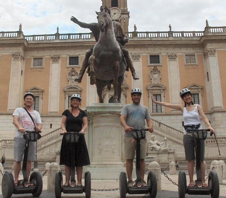 Hust one pic from our Rome Segway tour - Rome
