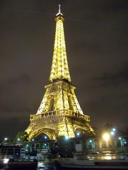 Photo of Paris Eiffel Tower, Seine River Cruise and Paris Illuminations Night Tour Illuminated Eiffel Tower