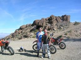 Photo of Las Vegas Hidden Valley and Primm Extreme Dirt Bike Tour Kyle with guide Seth