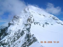 Great view of the mountain peak., Dingyue X - June 2008
